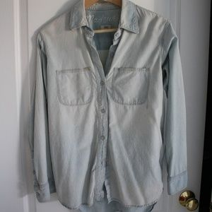 Madewell Perfect Chambray Button Up